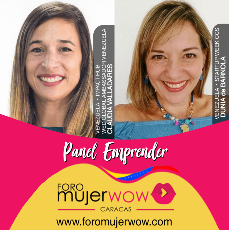 PANEL EMPRENDER - FORO MUJER WOW
